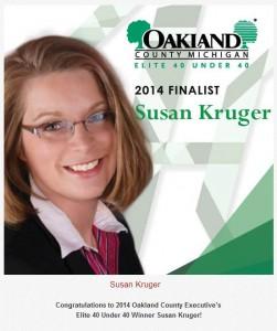 Susan Kruger - Oakland County Elite-40-Winner