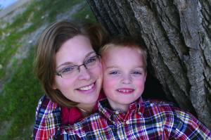 Susan Kruger, M.Ed., Author of SOAR Study Skills, with her son. Together, they've battled big challenges with ADHD and dyslexia!