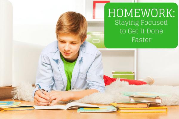 homework focus