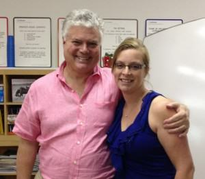 Susan Kruger, M.Ed. with Ned Hallowell, Ed.D, M.D., world's leading expert in ADHD.