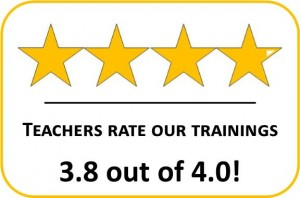 Teachers Rate Trainings - 4 Starts