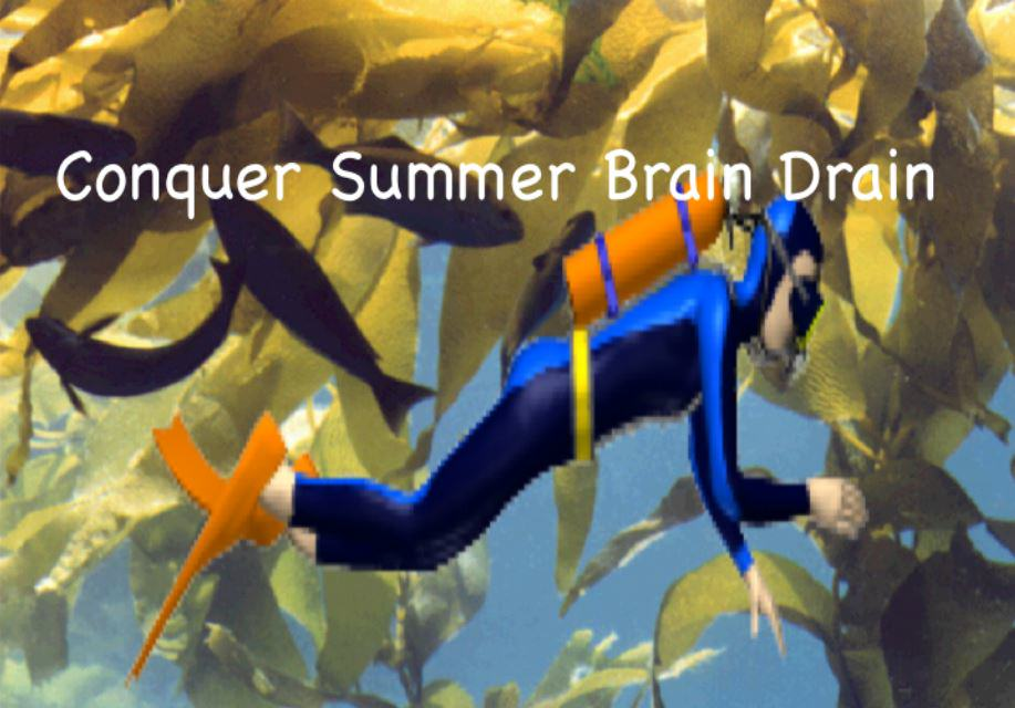 Conquer Summer Brain Drain: Let Go of the Guilt!