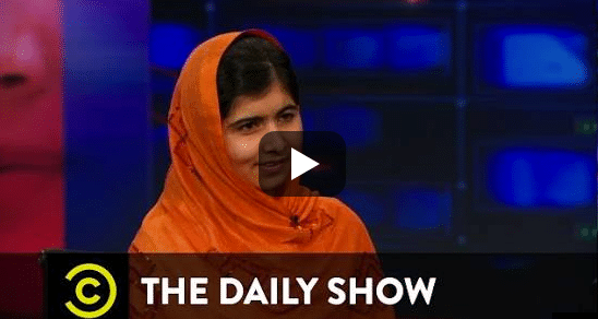 Two Life-Changing Minutes from Malala