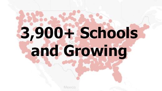 3900 schools