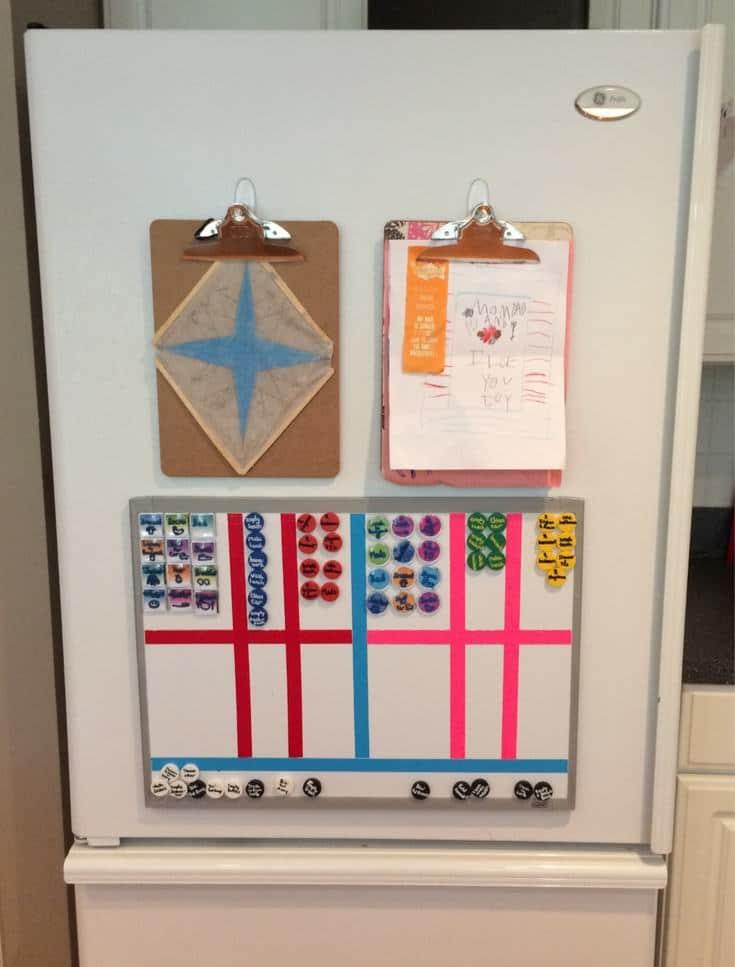 school paper organization system