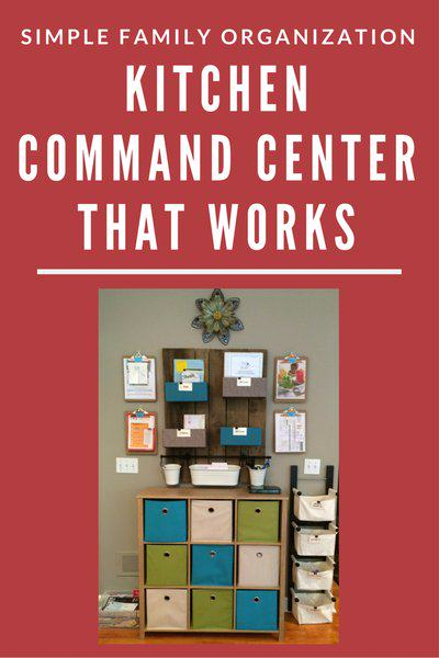 Simple Family Organization - Kitchen Command Center That Works - 42 KB for web