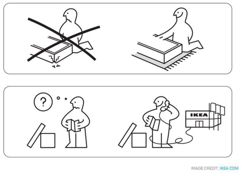 IKEA instrucitons
