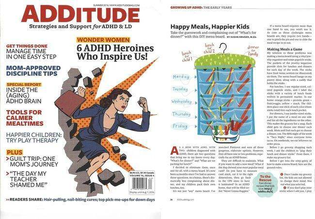 May 2016: ADDitude Magazine