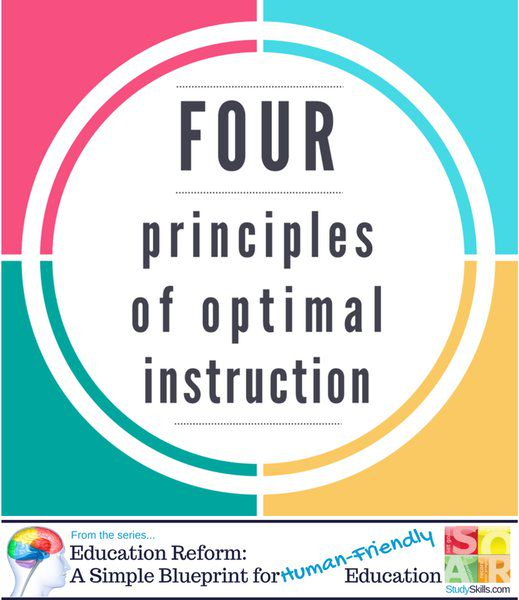Four Principles of Optimal Instruction