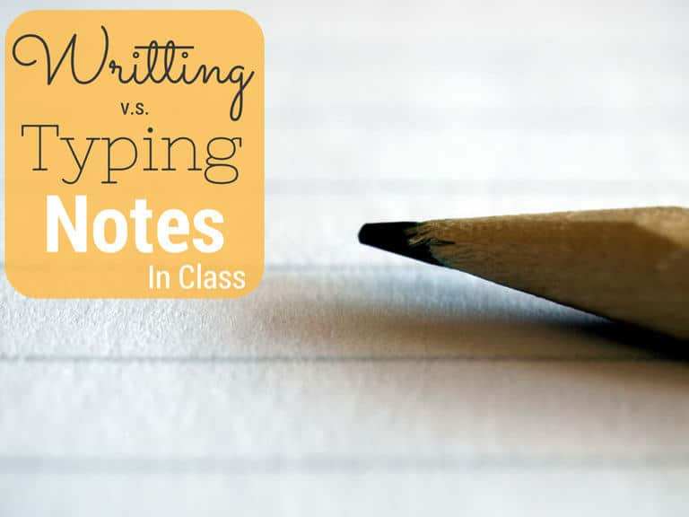 Note-Taking: Writing vs. Typing Notes