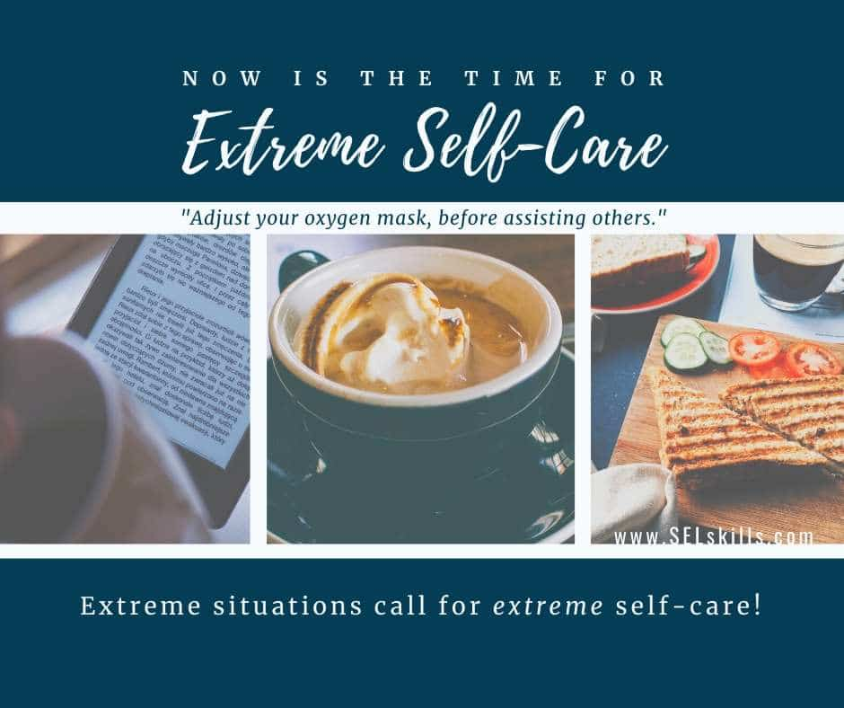 Article Title Image: Extreme Self-Care