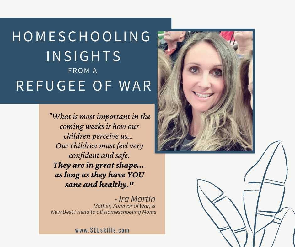 Title Image: Homeschooling Insights from a Refugee of War